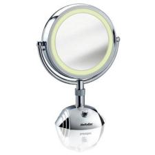 Babyliss 8438E 8x Nagyítású kétoldalas 3 fényű kozmetikai tükör smink kiegészítő