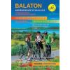BALATON - KERÉKPÁROS ÚTIKALAUZ TURISTAUTAKKAL (1:80000) - 5., AKTUALIZÁLT KIADÁS