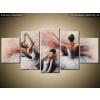 Balkys Trade Festett kép Gyönyörű balett-táncosnők 150x70cm RM2734A_5B