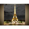 Balkys Trade Nyomtatott kép Eiffel-torony esti fényképe 1422A_1AI