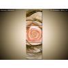 Balkys Trade Nyomtatott kép Gyönyörű rózsa fraktál 30x90cm 1481A_3V