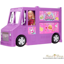 Barbie : Street Food büfékocsi babával barbie baba