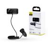 Baseus Baseus Bluetooth FM-transmitter/szivargyújtó töltő - 2xUSB + MP3 + TF/microSD kártyaolvasó - Baseus S-16/CCTM-E01 - black