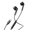 Baseus Encok C16 USB-C csatlakozású fülhallgató-headset, fekete