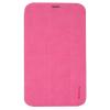 Baseus Folio Supporting Samsung Galaxy Tab 3 8.0 SM-T311/T310 tok, rózsaszín