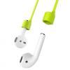 Baseus szilikon mágneses tartó elvesztés ellen Apple AirPods készülékhez - zöld