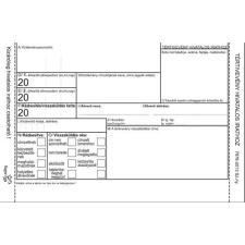 Basic TÉRTIVEVÉNY 160GR-OS ÖNTAPADÓS ÍVES ÚJ (2014) nyomtatvány