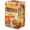 Basilur Magic Fruits Málna-csipkebogyó gyümölcstea filteres tea, 20 filter - 70181