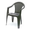 Báthory Háztartási és Műanyagáru KORA karfás szék barna