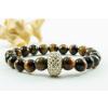 BBH Inspiration Swarovski tigrisszem karkötő, kristály dísszel