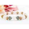 BBH Inspiration Szerelem karkötő rózsakvarcból és barna holdkőből