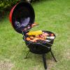 BBQ gömb alakú kerti grill sütő állvánnyal