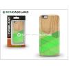 BCN Caseland Apple iPhone 6/6S hátlap - BCN Caseland Wood Stirpe Verde - green