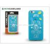 BCN Caseland Apple iPhone 6/6S szilikon hátlap - BCN Caseland Lemons - azul