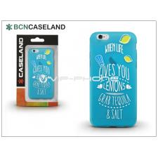 BCN Caseland Apple iPhone 6/6S szilikon hátlap - BCN Caseland Lemons - azul tok és táska