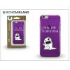 BCN Caseland Apple iPhone 7/iPhone 8 szilikon hátlap - BCN Caseland Limited Edition - lila