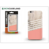 BCN Caseland Apple iPhone 7 Plus/iPhone 8 Plus hátlap - BCN Caseland Wooden Lines Rose - pink