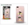 BCN Caseland Apple iPhone 7 Plus/iPhone 8 Plus szilikon hátlap - BCN Caseland Sushi Tower - transparent