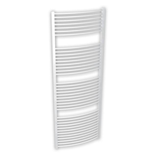 Be4Heat BRH Helidor, íves, fehér, törölközőszárítós radiátor 750x1680, 1599 W fűtőtest, radiátor
