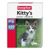 Beaphar Kitty'S Junior Étrendkiegészítő Jutalomfalatok Macskáknak 150 db