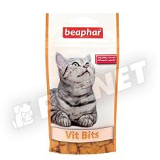 Beaphar Vit Bits ropogós faltkák 35g jutalomfalat macskáknak