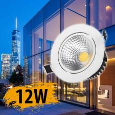 Beépíthető 12 W LED lámpa világítás