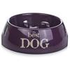BEEZTEES bestdog kutyatál 14x4,5cm-140mllila