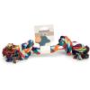 BEEZTEES játék rágókötél színes 300 g