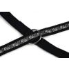 BEEZTEES kiképzőpóráz mancs fekete 20/200 cm