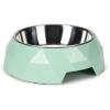 BEEZTEES macskatál diamond zöld 14x4cm