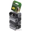 Beeztees, Petproduct kutyapiszok gyűjtő zacskó utántöltő, 160 db, szürke