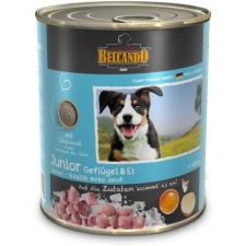 Belcando 6 x 400 gr Junior baromfihús tojással 2.4kg kutyaeledel