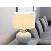 Beliani Elegáns fehér asztali lámpa NERIS