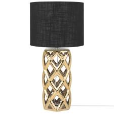 Beliani Elegáns Fekete És Arany Asztali Lámpa 71 cm SELJA világítás