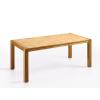 Beliani Étkezoasztal - Tölgyfa asztal - 150 cm - Világosbarna - NATURA