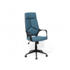 Beliani Fekete és kék színű modern irodai forgószék DELIGHT