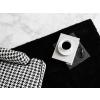 Beliani Fekete Shaggy szőnyeg 160 x 230 cm DEMRE