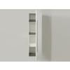 Beliani Fürdoszoba szekrény - Függesztett polc - Polcos szekrény - Fehér - MATARO