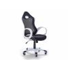 Beliani Irodai szék - Forgószék - Szék - fekete-fehér iChair