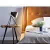 Beliani Modern asztali lámpa fekete színben 43 cm TAMEGA