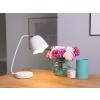 Beliani Praktikus asztali lámpa fehér 29 cm UROLA