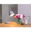 Beliani Praktikus asztali lámpa szürke 29 cm UROLA