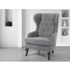 Beliani Szürke kárpitozott fotel - ALTA