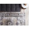 Beliani Szürke mintás pamutszőnyeg 160 x 230 cm ALMUS