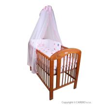 Belisima 5-részes ágyneműhuzat Belisima Vidám csillagok 90/120 rózsaszín | Rózsaszín | 90/120 cm babaágynemű, babapléd