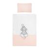 Belisima | Belisima Cute Mouse | 2-részes ágyneműhuzat Belisima Cute Mouse 90/120 rózsaszín | Rózsaszín |