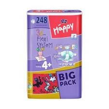Bella Happy 4+ (Maxi Plus) Big Pack pelenka (9-20 kg) 248 db (4x62 db) pelenka
