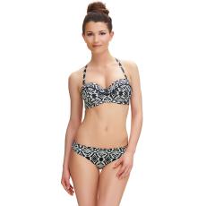 BEQA merevítős lecsatolható pántos bikini felső