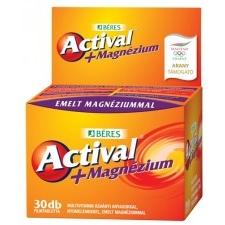 Béres Actival+ Magnézium filmtabletta 30 db vitamin