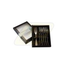 Berndorf 173785 Süteményes készlet 6 részes Beta tányér és evőeszköz